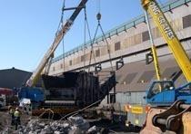 Демонтаж конструкций из металла в Кургане