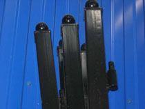 монтаж металлические столбы в Кургане