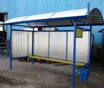 Изготовление автобусных остановок г.Курган